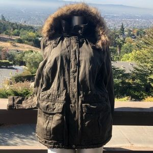 Guess Hooded Utility Jacket